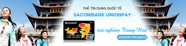 Banner thẻ tín dụng