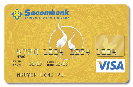 Thẻ tín dụng quốc tế của Sacombank có mấy loại
