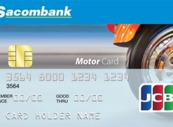 Sacombank ra mắt thẻ tín dụng quốc tế Sacombank JCB Motor Card