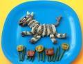 Món ngựa vằn bằng khoai tây