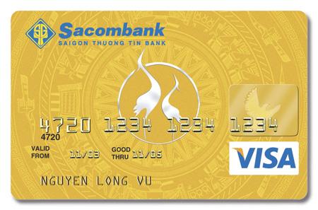 Thẻ tín dụng quốc tế của Sacombank có mấy loại